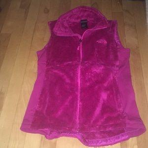The North Face fleece vest